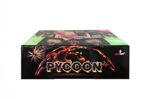 Pycoon 100-Schuss-Feuerwerkverbund Pyroland
